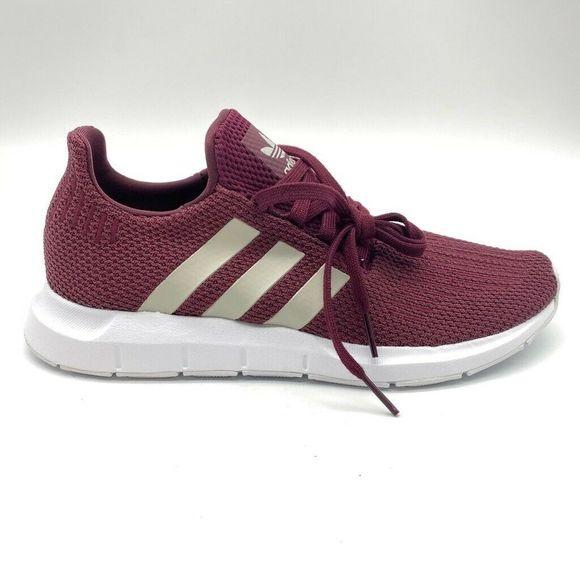 adidas women's maroon swift run shoes